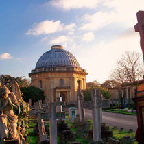 Chapel and monuments in Brompton Cemetery  c  Robert Stephenson